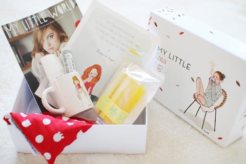 『My Little Box』2015年1月の中身は?ブログで話題のMy Little Box(マイリトルボックス)のサプライズプレゼントが素敵